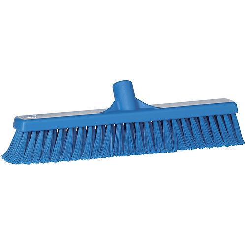 """Vikan 2""""x16"""" Blue Broom - Soft Bristled"""