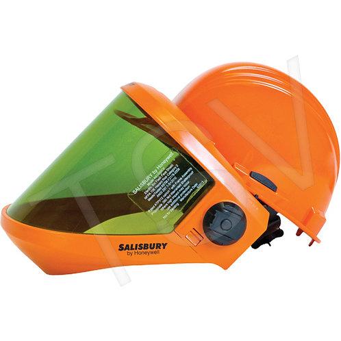 Salisbury Arc Flash Protection Faceshields w/ Dielectric Hard Hat