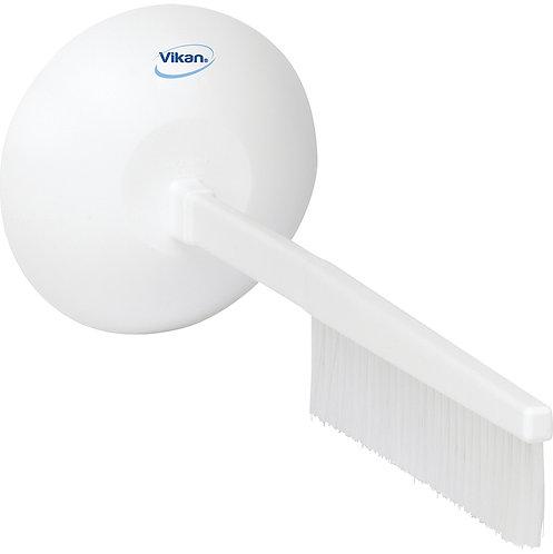 Vikan White Hand Guarded Brush