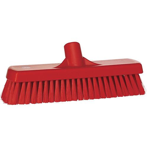 Vikan Red Wall Wash Brush - Soft Bristled