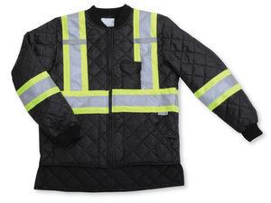 Quilt Polyester Traffic Safety Jacket