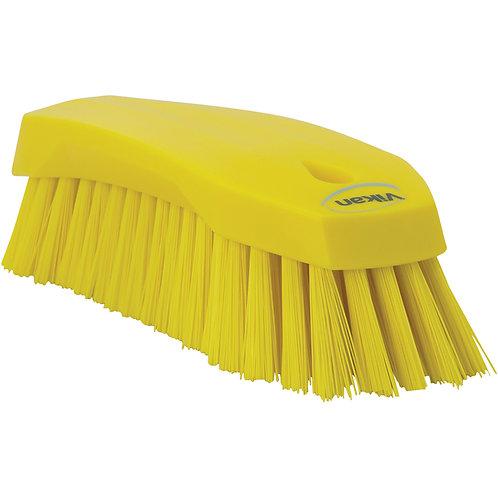 Vikan Yellow Hand Scrub Brush - Stiff