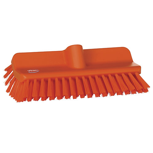 Vikan Orange High-Low Brush