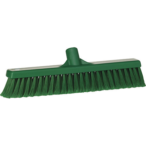 "Vikan 2""x16"" Green Broom - Soft Bristled"