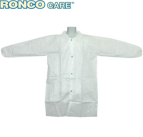 Ronco Care Polypropylene Labcoat