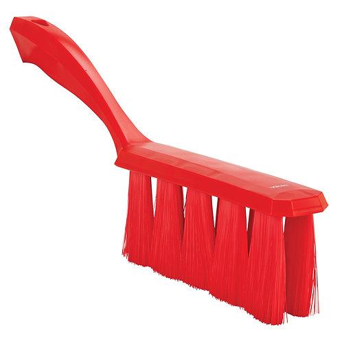 Vikan Red UST Bench Brush - Soft