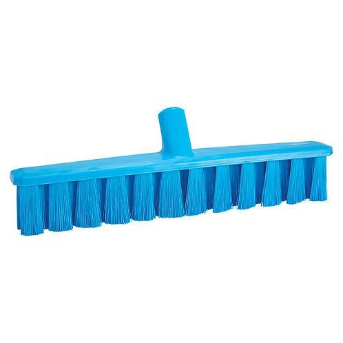 """Vikan 16"""" Blue UST Broom - Medium Bristled"""