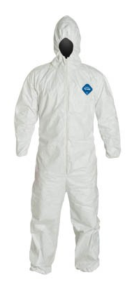 Dupont Tyvek Hooded Coveralls