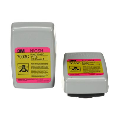 3M 7093CB P100 Hydrogen Fluoride Cartridge/Filter