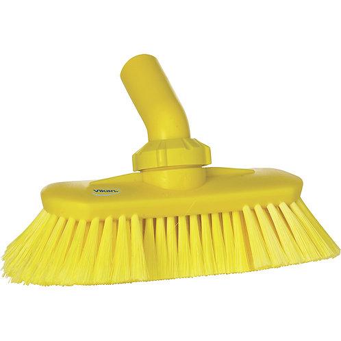 Vikan Yellow Angle Adjustable Brush