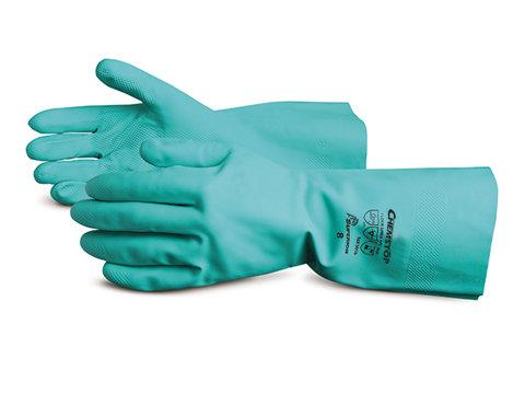 Chemstop™ Flock-Lined Nitrile Gloves