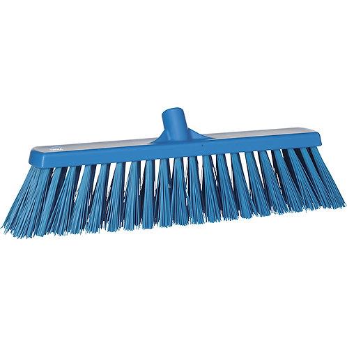 Vikan Blue Broom - Stiff Bristled