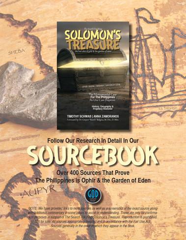 Solomon's Treasure SOURCEBOOK