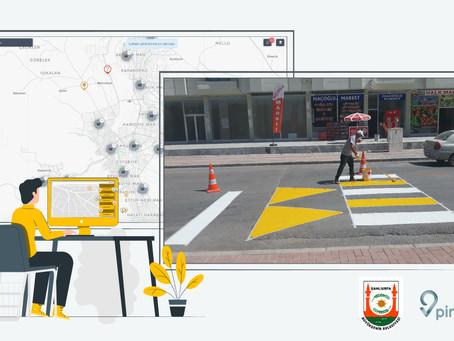 Şanlıurfa Büyükşehir Belediyesi Trafik Şube 2 haftada 360 farklı yerdeki işi nasıl koordine etti?