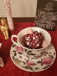 We're making mugs explode...with flavor! -- Hot Cocoa Bombs!