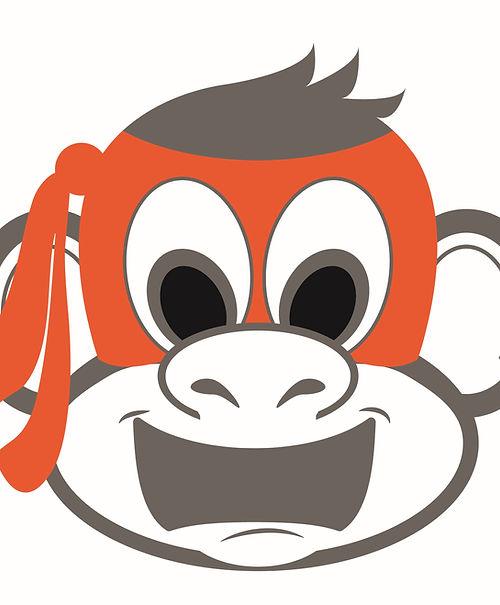Ninja Monkey Head - Spotlight