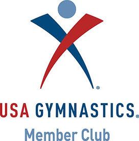 USA Gymnastics Member Club logo