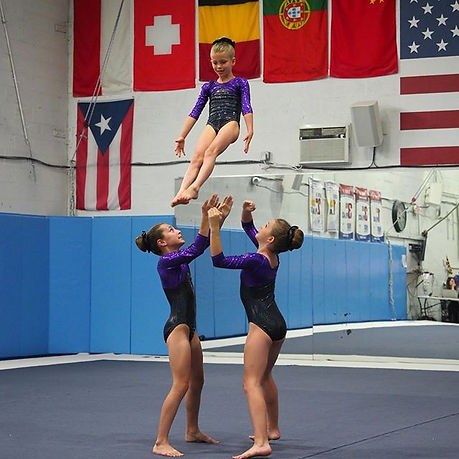 Acrobatic Gymnastics Clinic - Spotlight Acro and Cheer