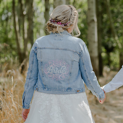 """Bride"" Denim Jacket"
