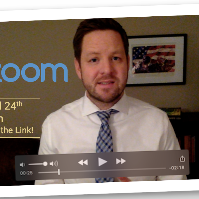Zoom Happy Hour with Sean Ryan