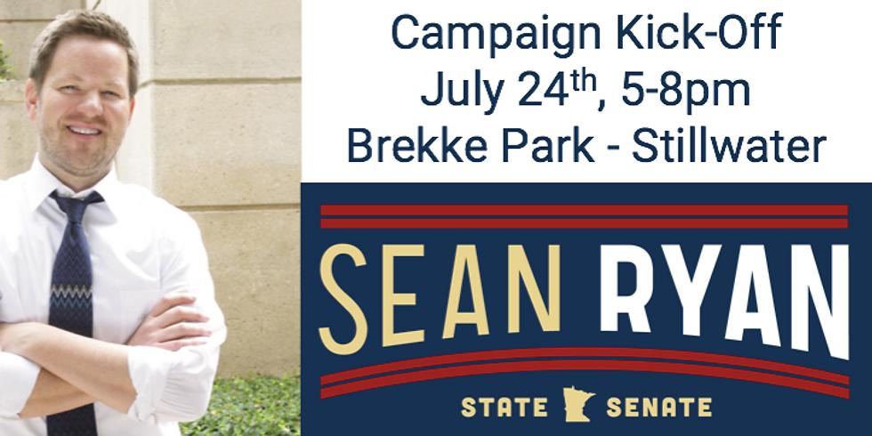 Sean Ryan for Minnesota State Senate Campaign Kickoff