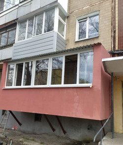Прстройка балкона в Харькове и Харьковской области