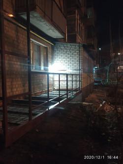 Балкон с нуля в Харькове