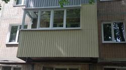 Балконная рама для балкона под ключ