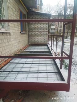 Расширение балкона в Харькове