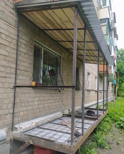 Сварка каркаса для балкона с нуля в Харькове