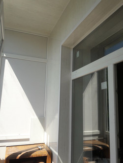 Французский балкон откосы