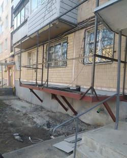 Монтаж нового каркаса для балкона с нуля