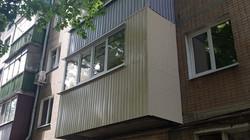 Ремонт балкона под ключ в Харькове