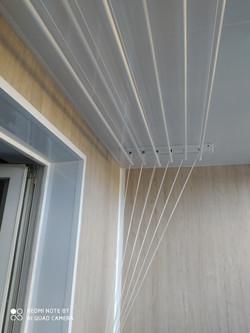 Ремонт и внутренняя обшивка балкона в Харькове