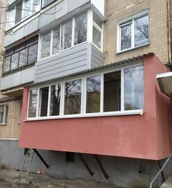 Балкон с нуля в Харькове и Харьковской области