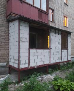 Монтаж балкона с нуля в Харькове и Харьковской области