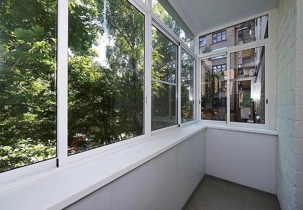 Расширение балкона по парапету (по перил