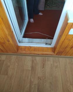 Внутренняя отделка балкона вагонкой с утеплением