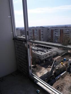 Теплый французский балкон в Харькове