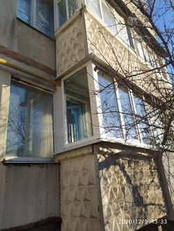 Реставрация балкона в Харькове