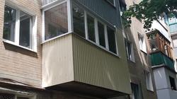 Балкон под ключ наружная обшивка Харьков