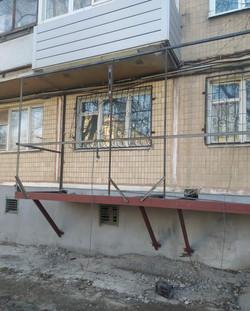 Монтаж балконной плиты для балкона с нуля