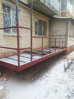 Ремонт балконной плиты Харьков