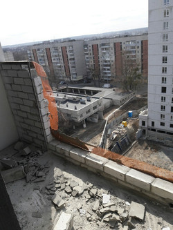Заказать французский балкон в Харькове