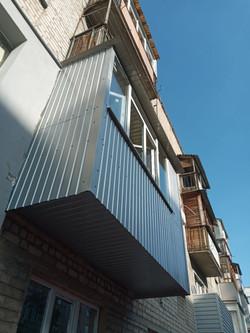 Вынос балкона по плите Харьков