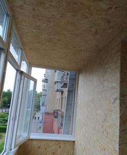 Внутренняя отделка балкона и утепление