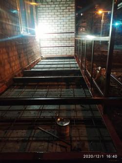 Монтаж новой балконной плиты в Харькове