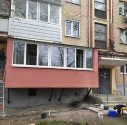 Пристрел балкона в Харькове и Харьковской области