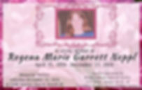 Copy of Floral In Loving Memory Poster T