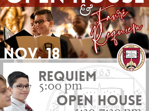 Multifaceted FauréRequiem & Open House Presented by Saint Paul's Choir of Men and Boys